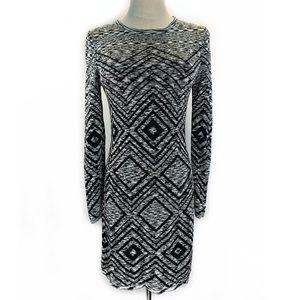 Trina Turk long sleeve knit dress